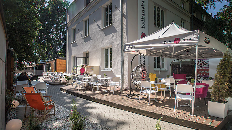 Restauracja Warszawa Praga Saska Kępa Lunch Restauracja